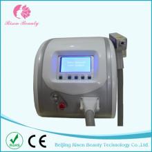 Máquina de remoção de tatuagem a laser Q Switch portátil