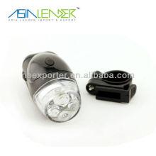 4 LED 4AAA batterie vélo lampe de poche