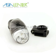 4 LED 4AAA battery bike flashlight