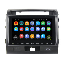 Toyota Land Cruiser 2008-2012 Reproductor de video para coche Android