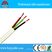 0.75mm2 1.0mm2 1.5mm2 Flat Cable 2 Cores Solid Flat Sheath Cable