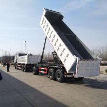 Remolque completo de 3 ejes 60T para camión volquete