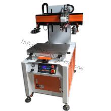 Máquina de impresión de pantalla UV Fletbed automática con máquina de curado UV