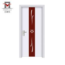 Qualité assurée Personnaliser la taille de la porte en bois en acier écologique