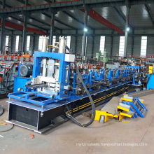 Galvanised c z section slotted channel steel structure building steel beam c z purlin making machinery