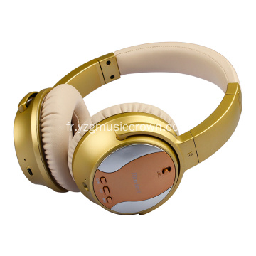 Casque Bluetooth à suppression de bruit active avec connexion sans fil