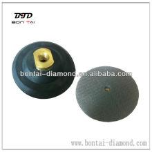 Conector de almohadilla de pulido / almohadilla de respaldo de velcro