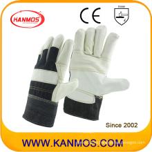 PPE Muebles ligeros de cuero Guantes de trabajo de seguridad industrial (310032)
