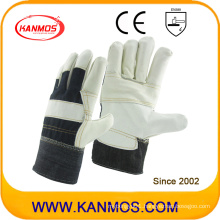 PPE Light Furniture Leather Industrial Safety Work Gloves (310032)