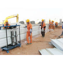 Roof Sheet Crimping Curved Machine