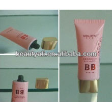 oval PE cosmetic tube