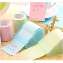 Colourful Sticky Notes with Dispenser, Printed Logo in Sticky Notes