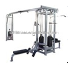 Hot multi fitness equipments Integrated Gym Trainer Six Station
