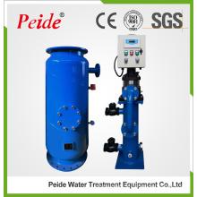 Sistema automático de limpieza de tubos de condensador para enfriadores