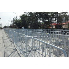 China Used Concert Crowd Control Barrier/Traffic Barrier Crowd Control Barrier/Sports Exhibition Dedicated to Crowd Control Barriers