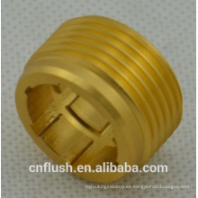 Piezas de torneado de aluminio de diseño personalizado con diferentes piezas de torneado de aluminio de precisión de tratamiento de superficies