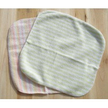 Microfiber Coral Fleece Baby Face Towel