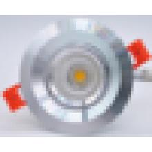 Shenzhen encendió la iluminación led rohs llevó lámpara 3W 5W COB led downlight regulable