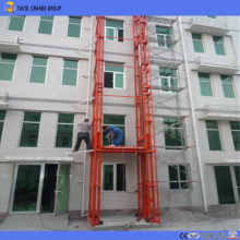 Outdoor Use Electric Goods Lift for Warehouse