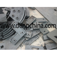 Impact Crusher Spare Parts/Impact Crusher Liner Plate/Liner Plate/Lining Board