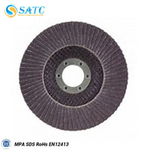 latest factory direct sales upstanding flap disc for steel/stainless/wood