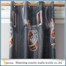 Window curtains design Made In China Latest Design Printing Readymade Curtains