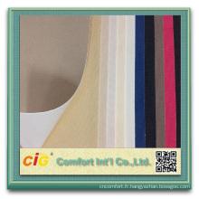 Tissu d'obscurcissement de rideau enduit acrylique de rideau en polyester