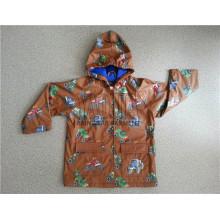 Fashion Style Wasserdichte Kinder Regenjacke für Schuljungen