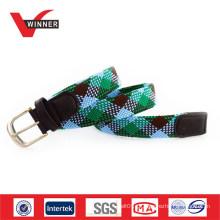 Cinturões elásticos de tecido casual unisex