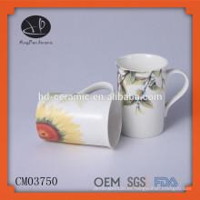 Tazas Tipo de Drinkware y material de cerámica taza, taza de café con la calcomanía, taza de café con la impresión, taza de cerámica chaozhou