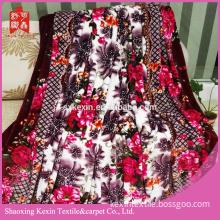 Micro fiber 100% polyester flannel fleece fabric