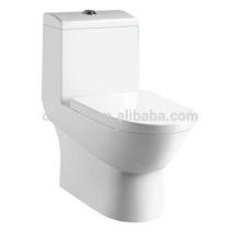 CB-9506 Moderne Badezimmer One Piece Toilettenschüssel, Keramik Toilettenschüssel Dual Spülung WC Sanitär-Materialien