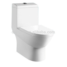 CB-9506 Banheiro moderno, uma peça de vaso sanitário, vaso sanitário cerâmico de dupla descarga de materiais de encanamento sanitário