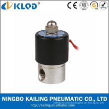2wb Types High Quality Stainless Steel Water Control Solenoid Valve 24V