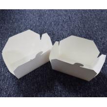 caixa de armazenamento dobrável para embalagem de fast food