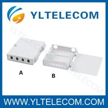 Boîte de 4 ports 8 Port FTTH fibre optique résiliation