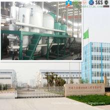 Fábrica de produção de óleo de milho contínuo e automático com ISO9001, CE em 2014