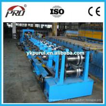 Maquinário de fabricação de aço Purlin / Metal Roll formando máquina de Purin CU