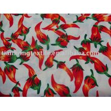 100 algodón liso flor impresa algodón telas textil