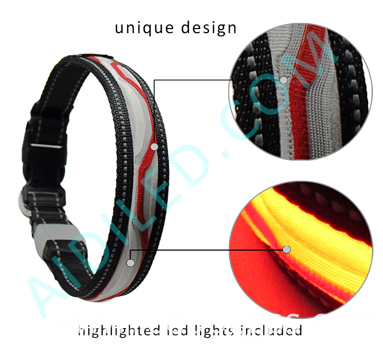 Light-Up Led Dog Safety Collars