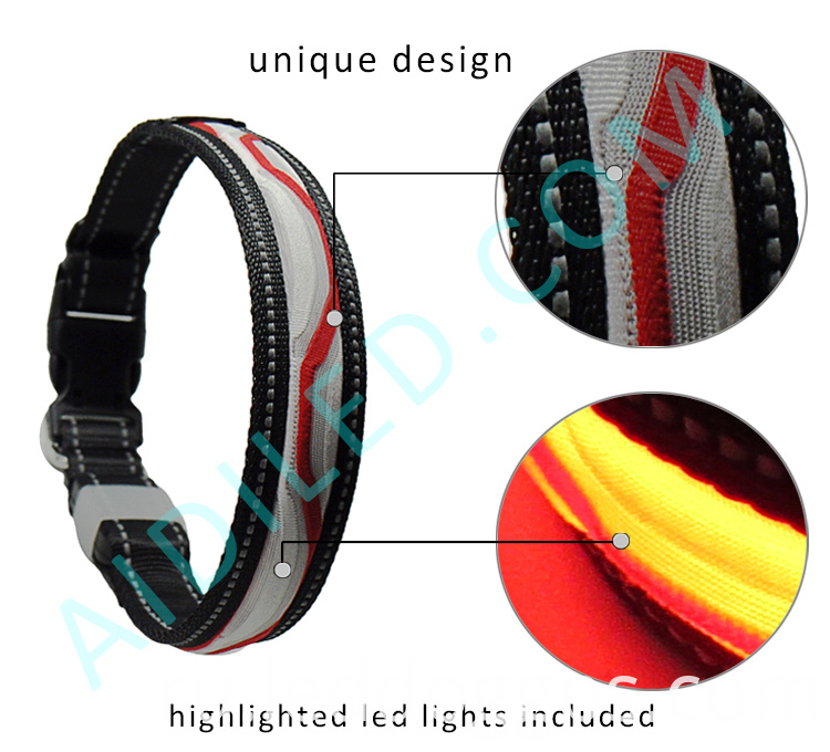 Night Safety Dog Collars