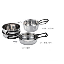 Stainless Steel Outdoor Pot Set (OP-1102)
