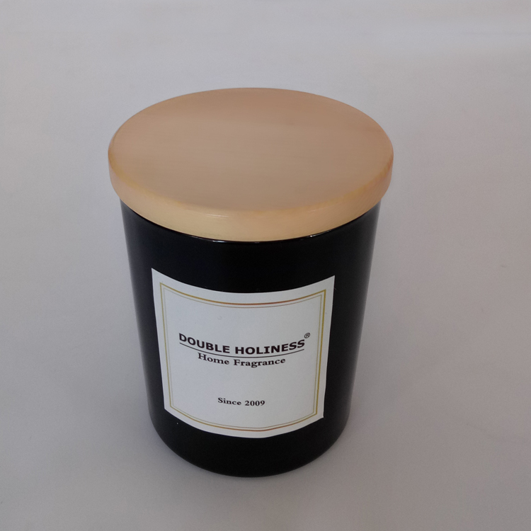Customized Wholesale Luxury Wedding Candle Black Glass 26