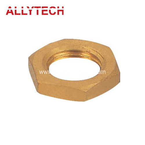 Precision Brass Turned Nut