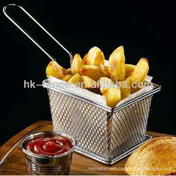 New design fry basket,stainless steel strainer