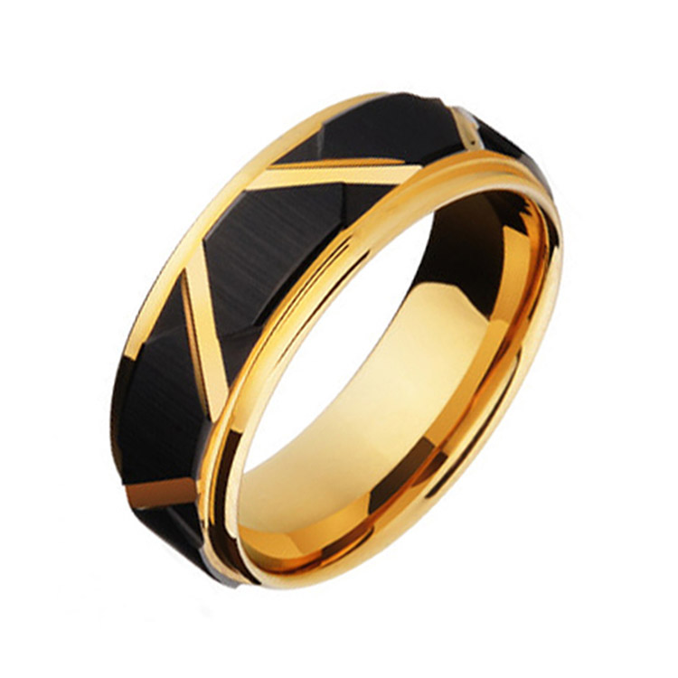 Gold And Black Ring