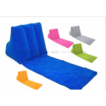 Custom PVC Damp Proof Foldable Inflatable Lawn Beach Sofa