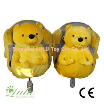 yello bear kids toy train