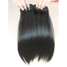 DHL gratuit! Pas cher Brésilienne Cheveux Humains 100% Non Transformés En Gros Vierge Cheveux Brésiliens Trame de Soie Cheveux Raides Extensions En Vente