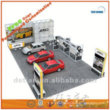 portable and mobile 3x3 standard exhibition stall